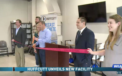 Ribbon cutting ceremony for company's new facility that will create local jobs
