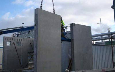 Huffcutt Delivers First Wall Panel Job From New Plant